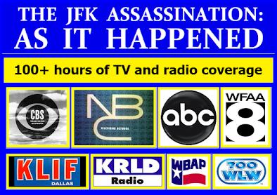 DVP's POTPOURRI: WFAA-RADIO COVERAGE OF JFK'S ASSASSINATION