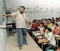 Indian math teacher