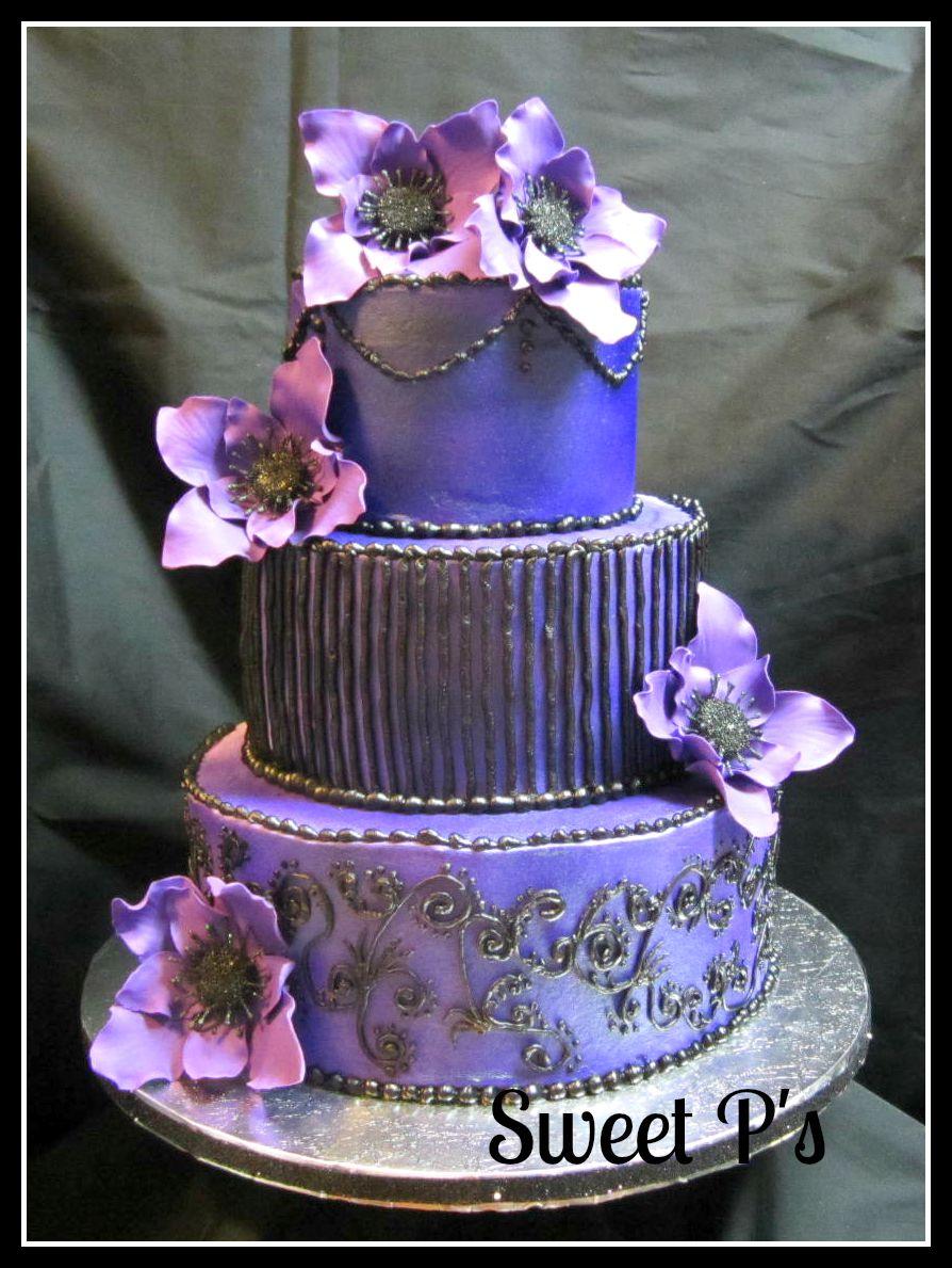 NonTraditional Wedding Cakes  Sweet Ps Cake Decorating  Baking Blog