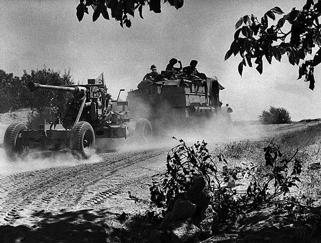 British truck tows artillery into Syria 8 June 1941 worldwartwo.filminspector.com