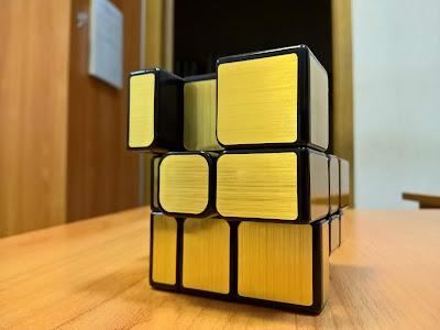 Золотой кубик Рубика