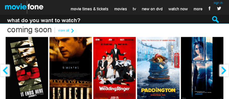 Moviefone.com: watch free movies online