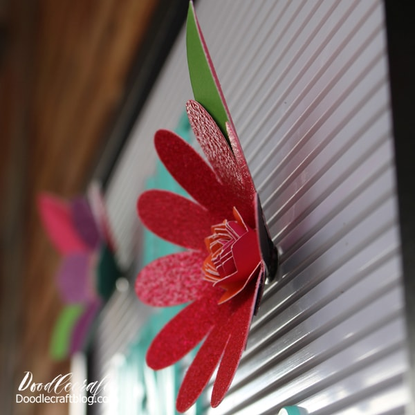 Make money using the Cricut Maker by selling 3D flowers made to fit in a letterboard.