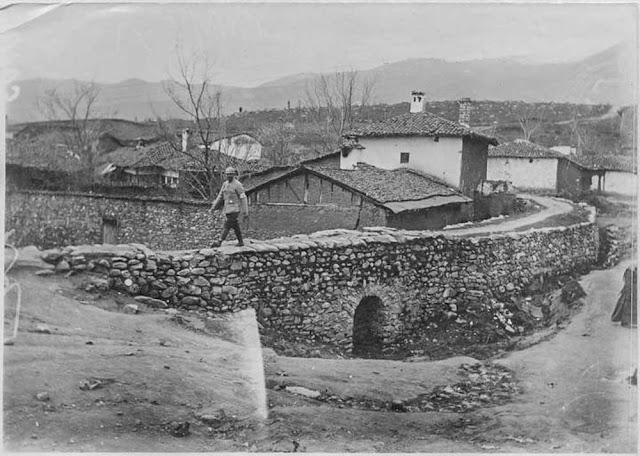 In the streets of Bitola (Monastir) (March 1917). A bridge in the upper town