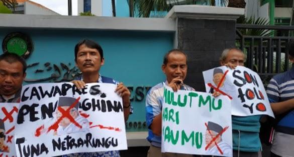 Komunitas Disabilitas Demo di Depan MUI, Tuntut Ma'ruf Amin Minta Maaf