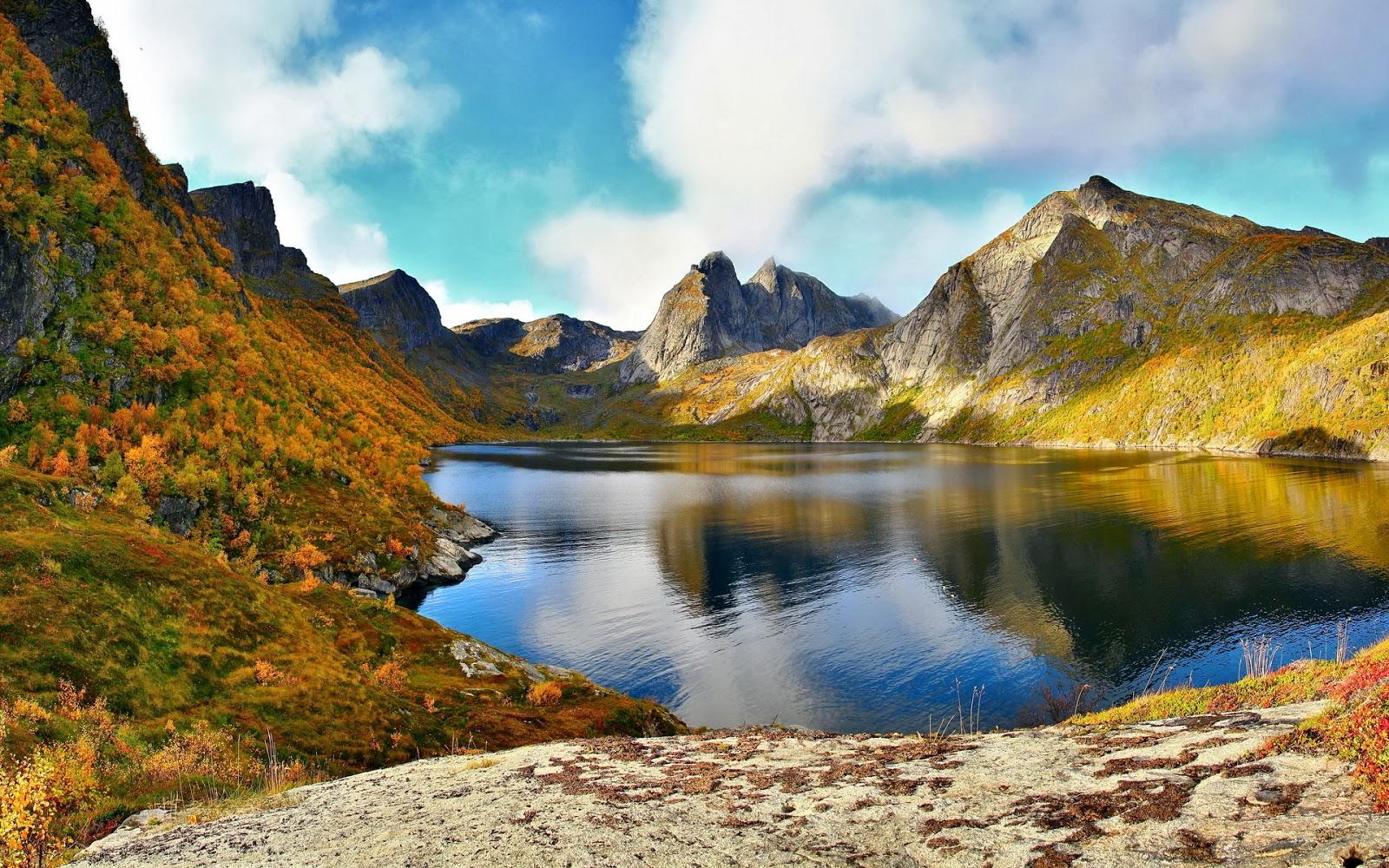 Gambar Pemandangan Gunung Gambar Pemandangan Pinterest20 Place Of