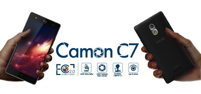 Tecno Camon C7 Specs & Price in Ghana