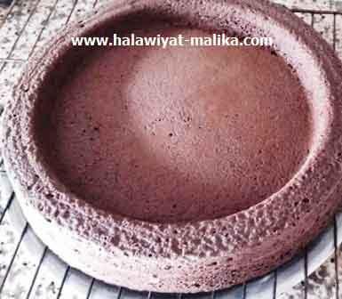 كعكة المول العجيب بالشوكولاته خفيفة ولذيذة