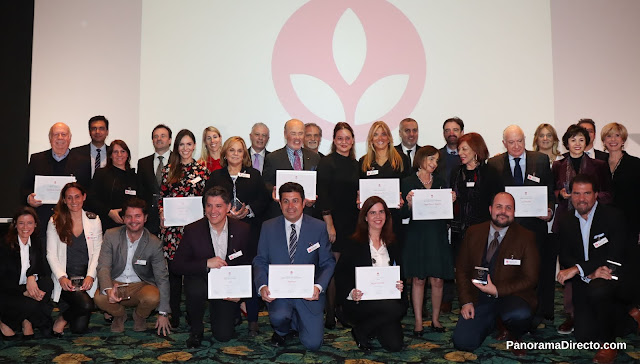 COAS entregó de los Premios a la Solidaridad 2018