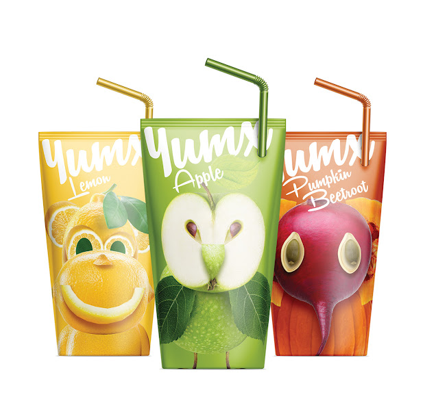 yumx - juice packaging design