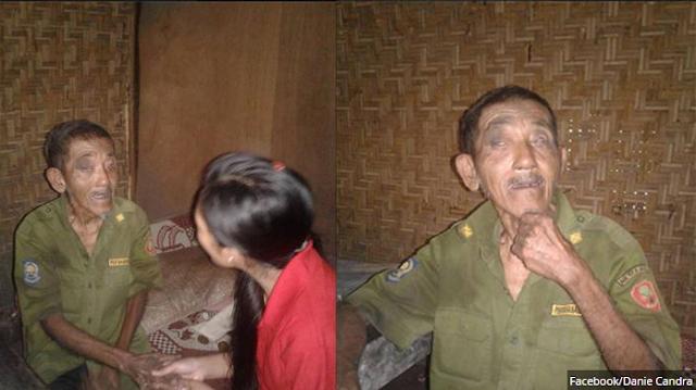 Mengharukan! Kakek Ini Ditinggal Sendiri dalam Hutan dengan Kondisi Memprihatinkan