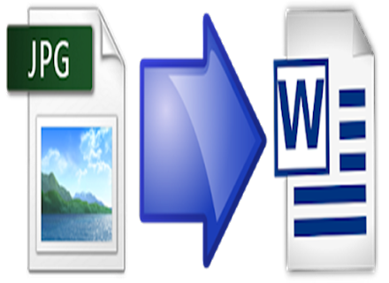 Convert JPG File into a Word Format