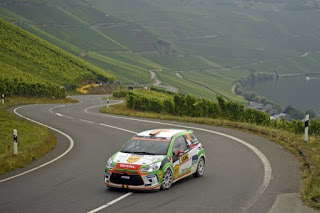 Simone Tempestini si Giovanni Bernacchini - Raliul Germaniei - JUNIOR WRC