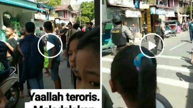 Ledakan Bom di Sibolga, Jelang Kedatangan Jokowi ke Sumut
