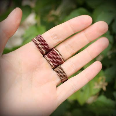 купить Набор колец на пальцы. Комплект из трех бохо-колец