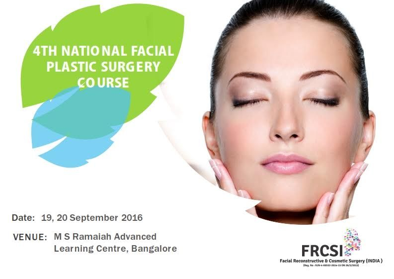 Facial plastic course