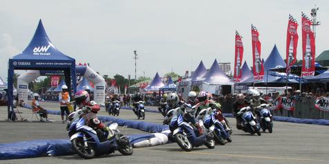 Medan Jadi Saksi Sengitnya Yamaha Cup Race Seri Keempat