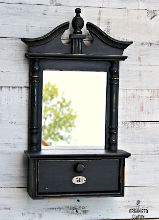 Upcycled Thrift Shop Mirror