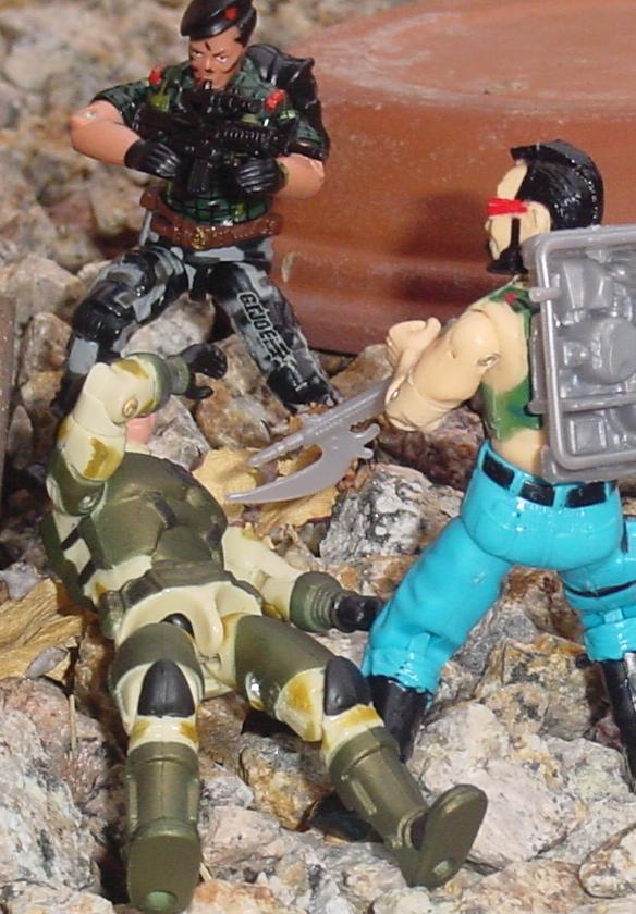 2004 Anti Venom Barricade, Night Force Flint, Funskool Ripper