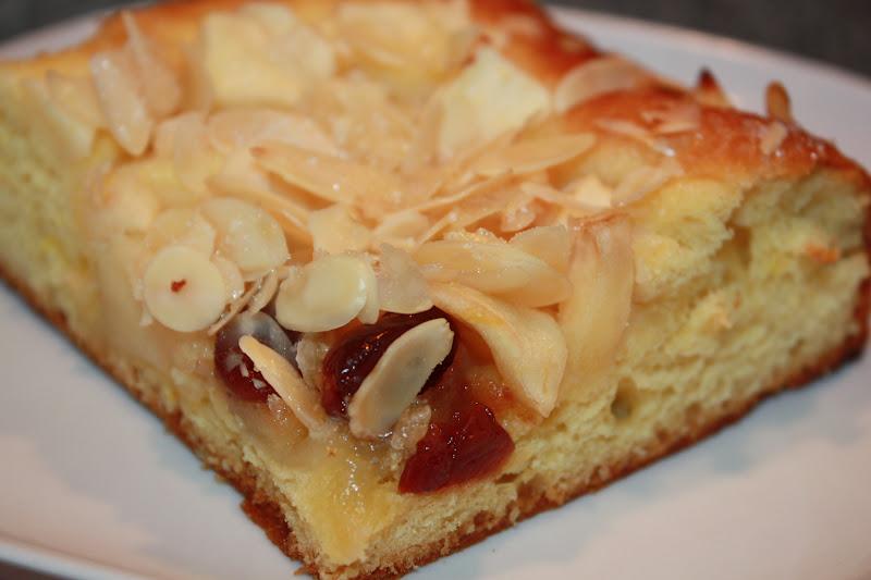 kuchen getrocknete äpfel
