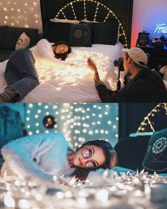 American Photographer Brandon Woelfel Showed The Process of Photoshoot