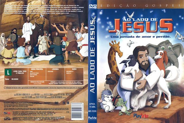 Capa DVD AO LADO DE JESUS Uma jornada de amor e perdão