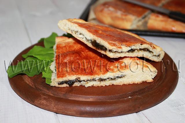 рецепт пирога со щавелем с пошаговыми фото