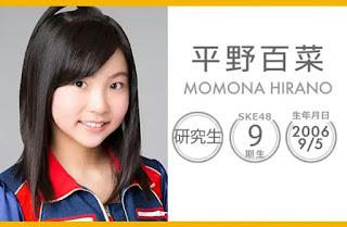 Hirano Momona SKE48 Gravure