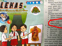 Duh! LKS SD di Tangerang ini Sebut Narkoba Sebagai Jamu