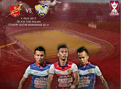 Live Streaming Kelantan vs UITM FC Piala Malaysia 4 Julai 2017