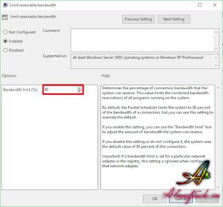 Cara Membatasi Bandwitdh WiFi atau LAN Tanpa Software