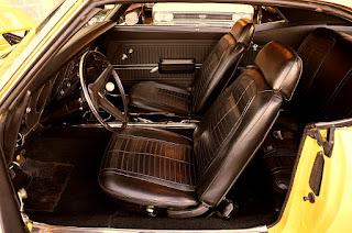 1969 Pontiac Firebird Sport Coupe Seat Front