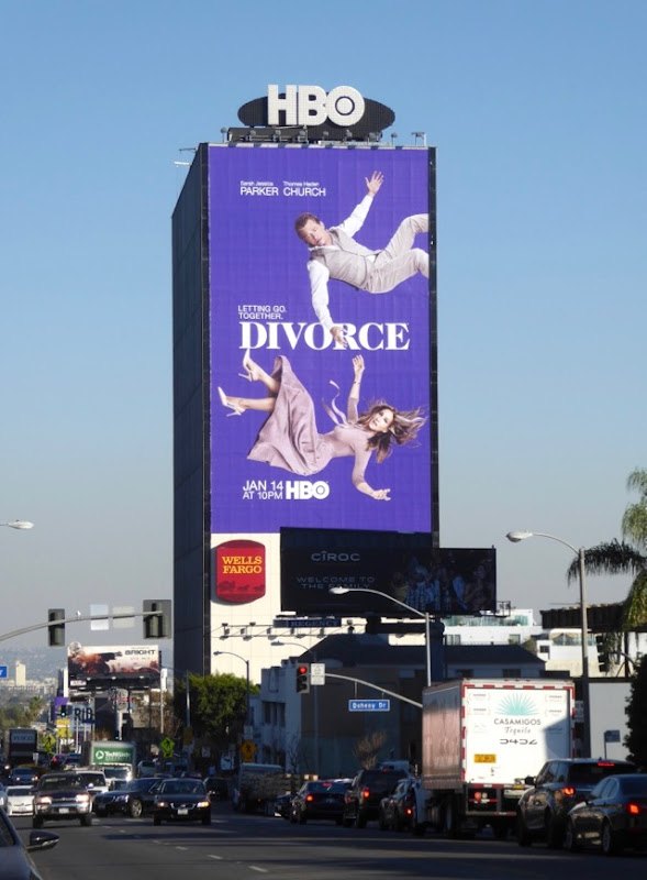 Giant Divorce season 2 billboard