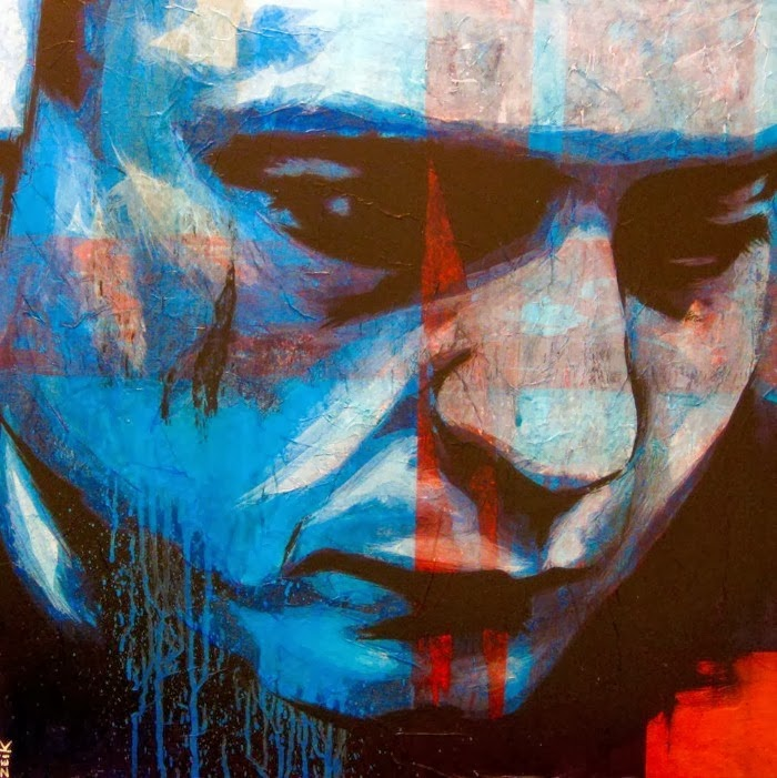 Смесь уличного искусства и традиций. Bobby Zeik