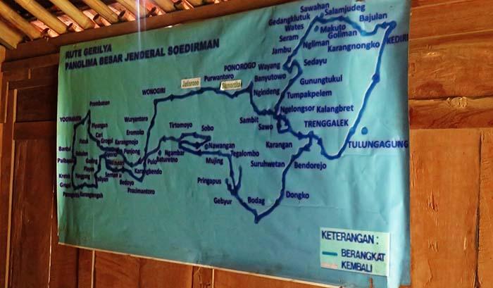 Rute Gerilya Jenderal Sudirman