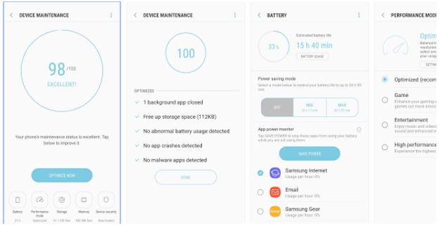 Cara Mengatasi Android Samsung Lambat / Ngelag Dengan Device Maintenance