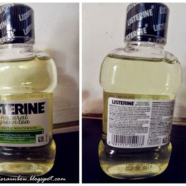 Listerine Natural Green Tea Mouthwash