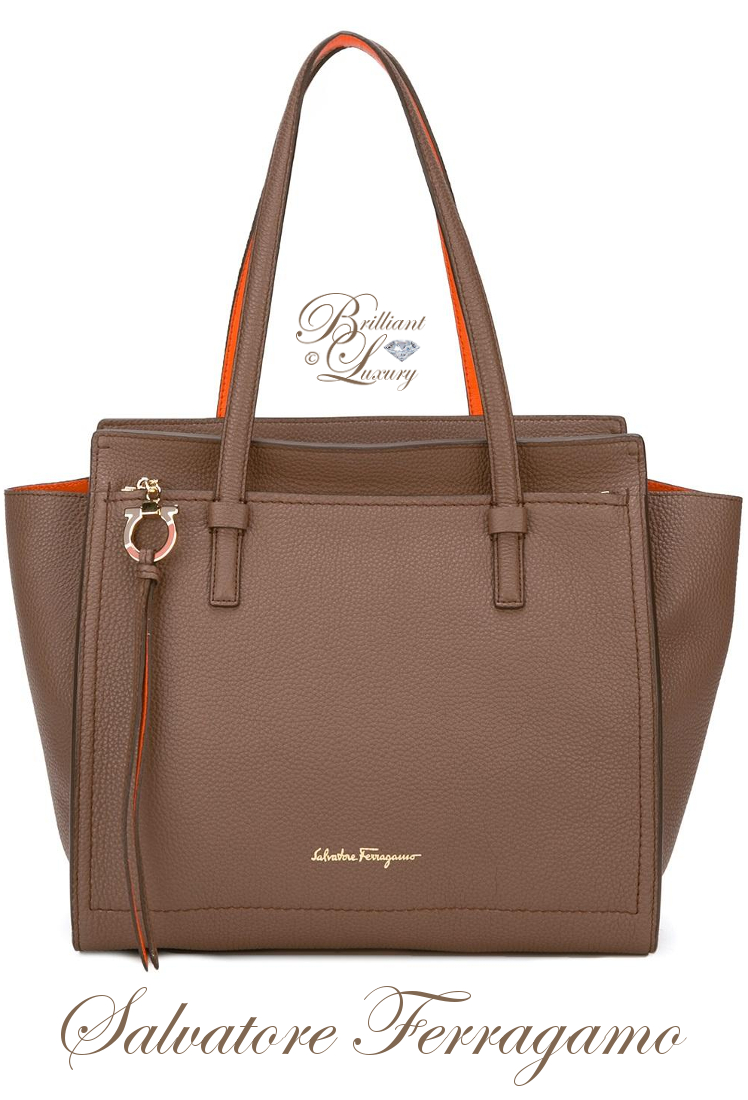 Brilliant Luxury ♦ Salvatore Ferragamo Amy Tote