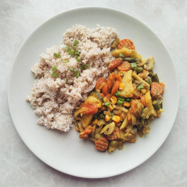Recette de Curry de Légumes (végan)