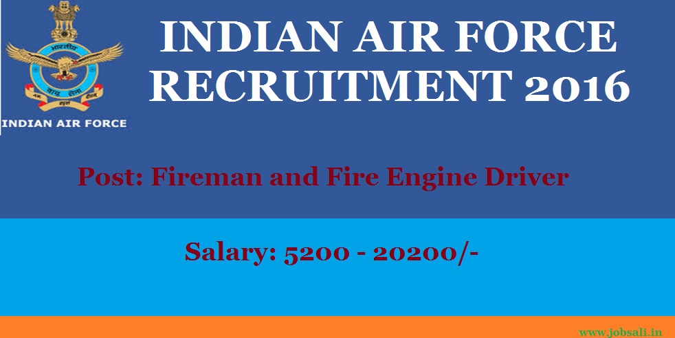join Indian air Force, Air Force Vacancies, Air Force Jobs