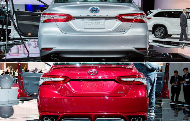 2018 Toyota Camry Rear Bumper