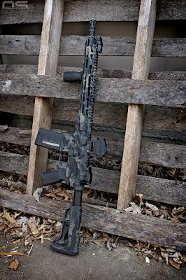 rustoleum multicam black ar15 carbine faxon gunner barrel