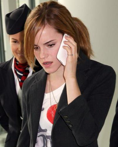 Emma Watson phone number