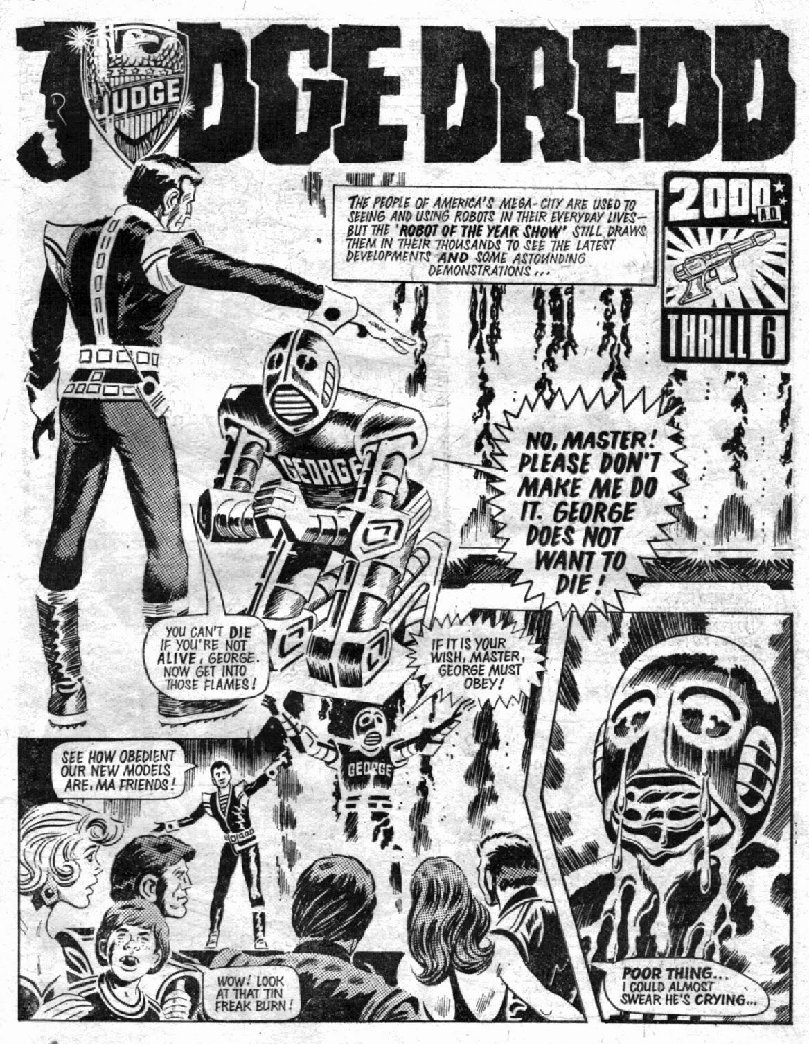 Figure 203 prior to the start of robot wars judge dredd made the moral legitimacy of a robot rebellion unequivocal written by