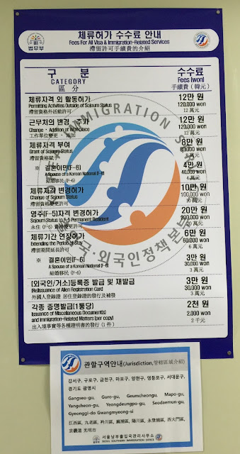 seoul immigration office F4 visa