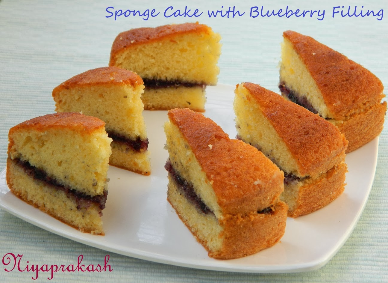 fillings for sponge wedding cakes niya s world sponge cake with blueberry filling 14240