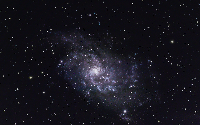 Triangulum Galaxy M33 Backyard Astrophotography