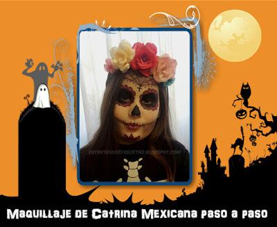 Maquillaje de Catrina Mexicana paso a paso