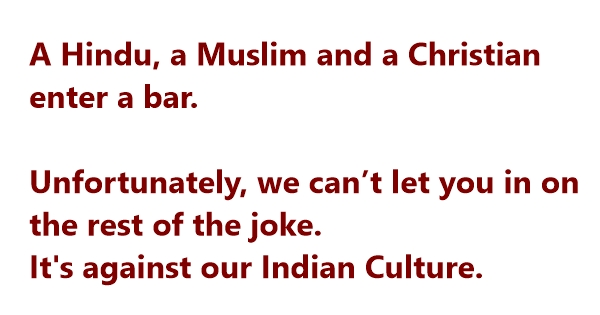 jokes on indian culture