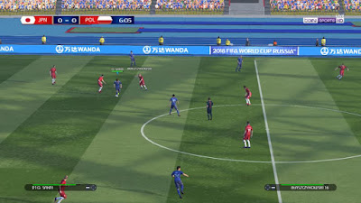 PES 2017 Scoreboard FIFA World Cup 2018 by Irvanlana